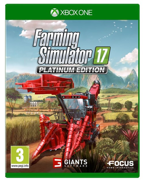 Farming Simulator 17: Platinum Edition Xboxone