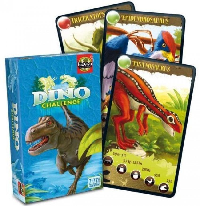 Cartas desafios naturaleza dinosaurios 2