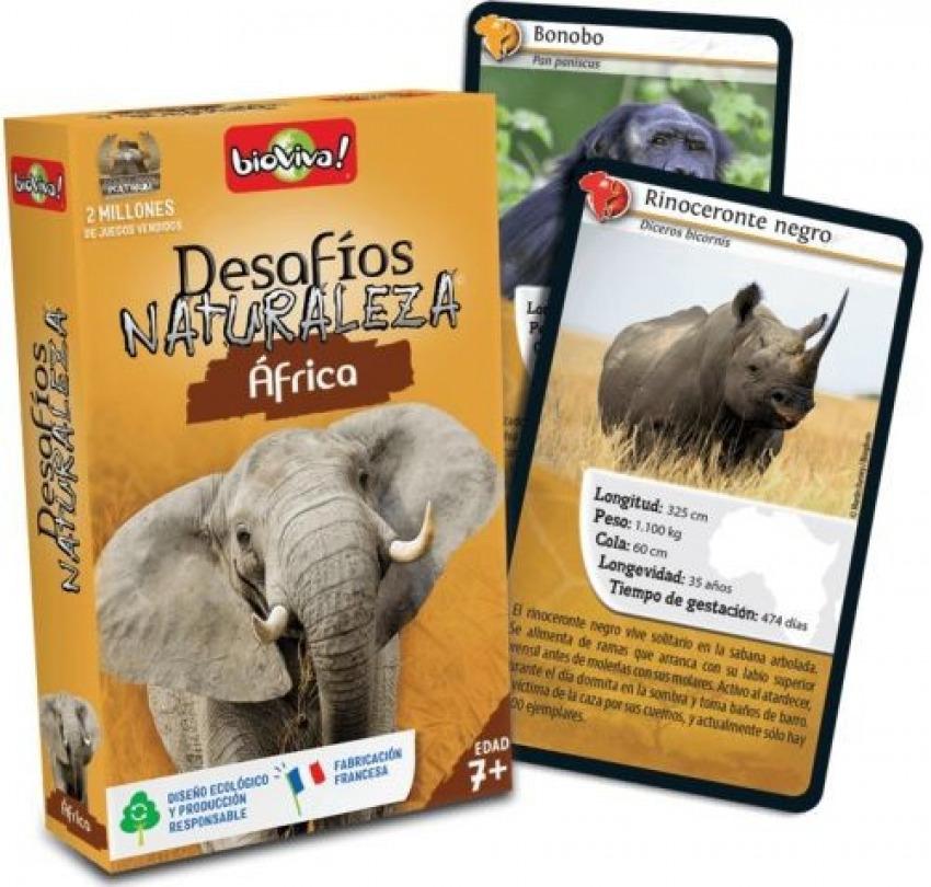 Cartas desafios naturaleza africa