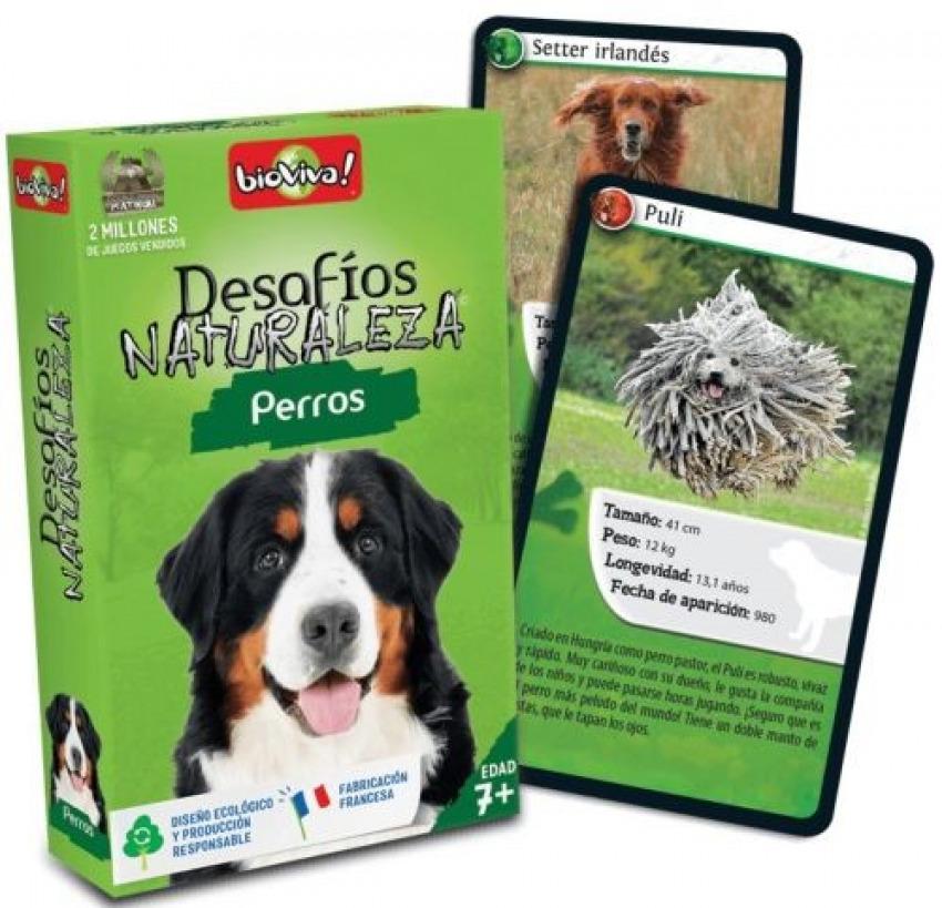 Cartas desafios naturaleza perros