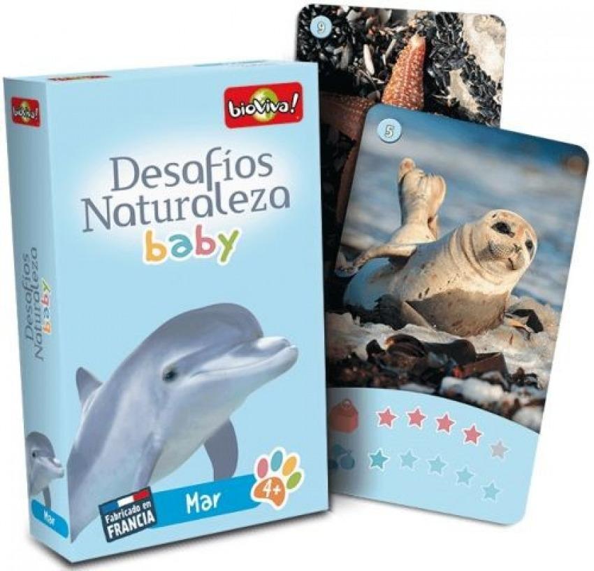 Cartas desafios naturaleza mar baby