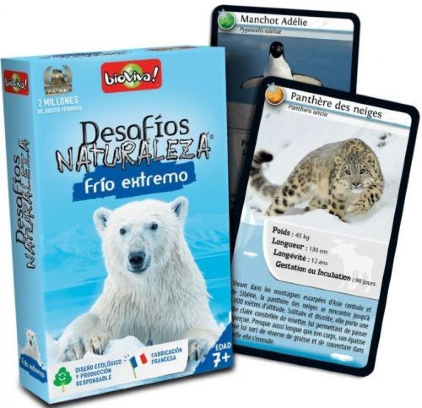 Cartas desafios naturaleza frio extremo