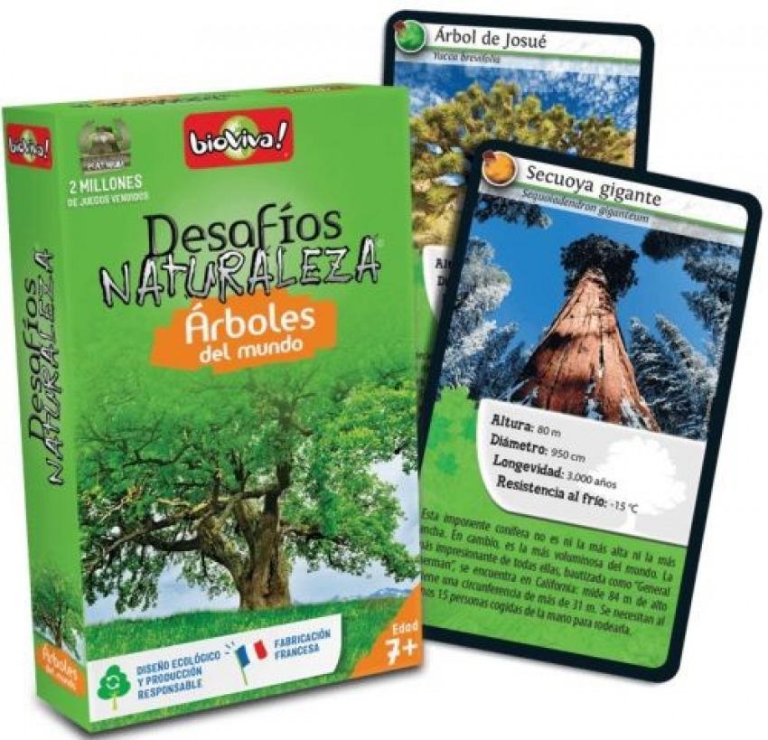 Cartas desafios naturaleza arboles del mundo