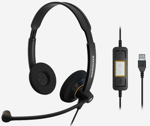 Auricular Con Micro Sennheiser Sc 60 Usb Ml