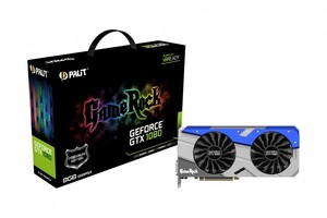 Gráfica PALIT GTX 1080 GAME ROCK 8GB GDDR5X