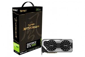 Gráfica PALIT GTX 1080 SUPER JETSTREAM 8GB GDDR5X