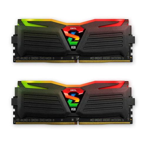 MODULO 16GB (2X8GB) DDR4 PC2400 GEIL SUPER LUCE