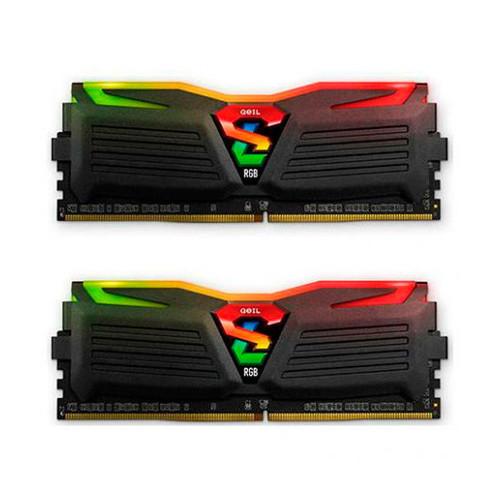 Modulo RAM 16GB (2X8GB) DDR4 PC3000 GEIL SUPER LUCE BL