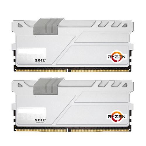Modulo RAM DDR4 16GB (2X8GB) PC2400 GEIL EVO X WHITE