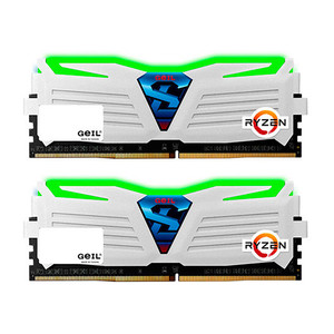 MODULO DDR4 32GB (2X16GB)PC2400 GEIL SUPER LUCE WH