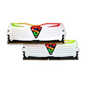 Modulo RAM DDR4 16GB (2X8GB) PC2400 GEIL SUPER LUCE WH