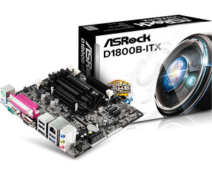 Placa Base ASROCK D1800B-ITX CPU INTEL DUAL CORE