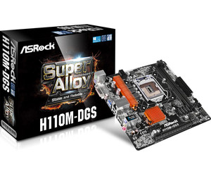 Placa Base ASROCK 1151 H110M-DGS