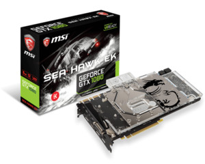 Gráfica MSI GTX 1080 SEA HAWK EK X 8GB GDDR5X