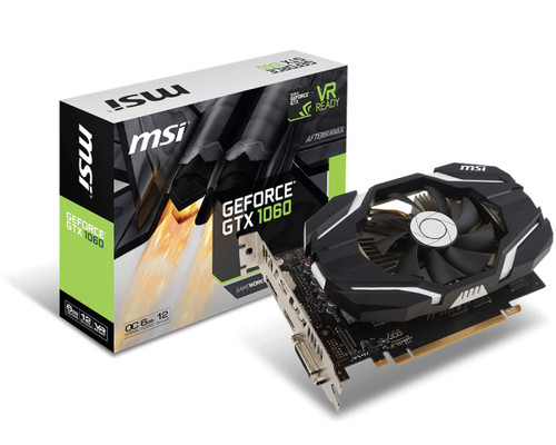 Gráfica MSI GTX 1060 ARMOR OCV1 6GB GDDR5