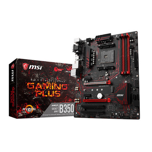 Placa Base MSI AM4 B350 GAMING PLUS