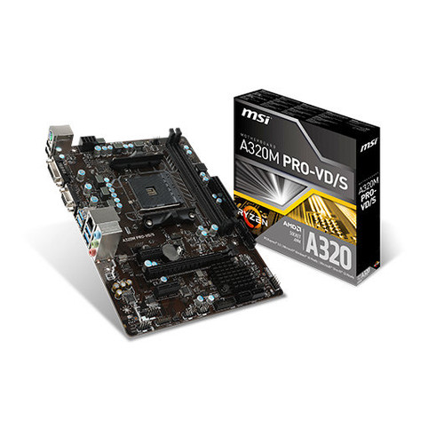 Placa Base MSI AM4 A320M PRO-VD/S