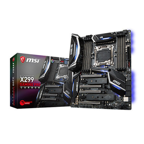 Placa Base MSI 2066 X299 GAMING PRO CARBON AC