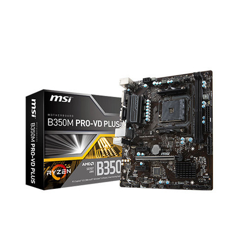 Placa Base MSI AM4 B350M PRO-VD PLUS