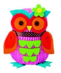Owl doll. Manualidades, buho de peluche.