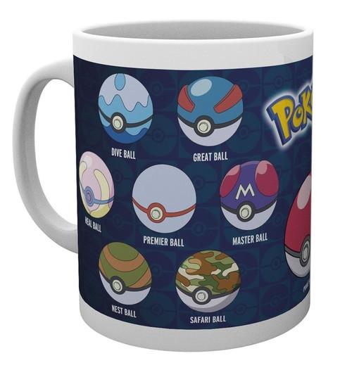Taza Pokemon Pokeballs Varias
