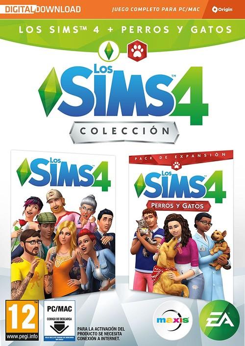 Los Sims 4+Los Sims 4 Perros Y Gatos Pc