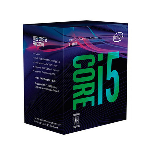 CPU INTEL 1151-8G I5-8600K 6X3.6GHZ/ 9MB BOX