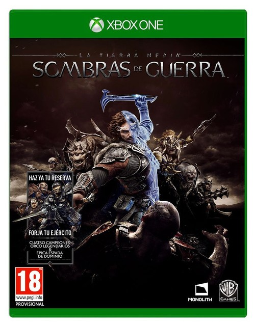 La Tierra-Media: Sombras De Guerra Xboxone
