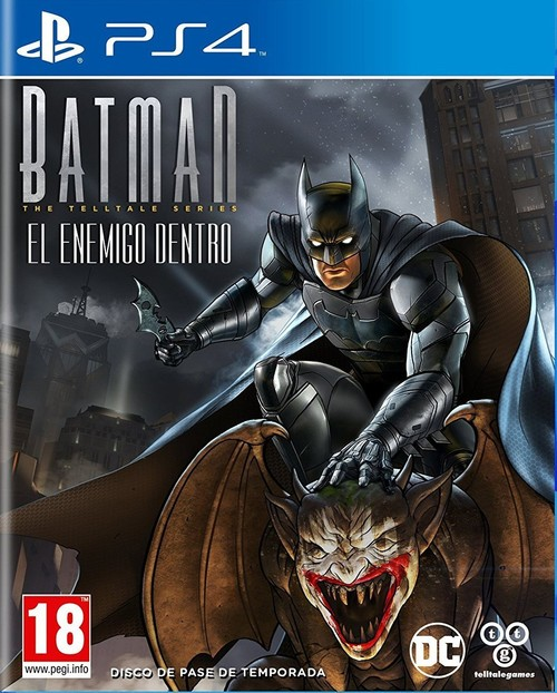 Batman: El Enemigo Dentro - The Telltale Series Ps4