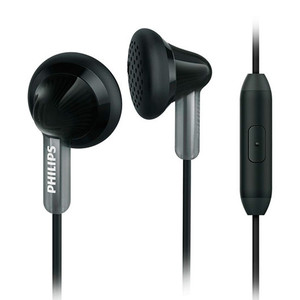 Auriculares conMicro PHILIPS SHE3015BK/00 NEGRO