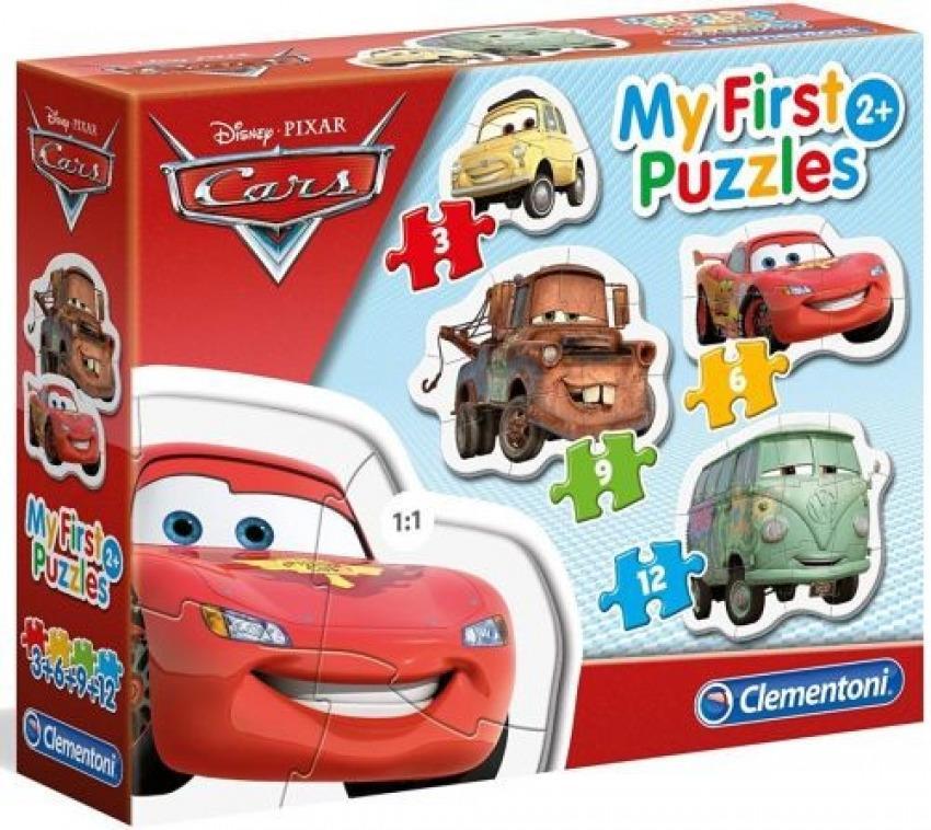 CARS PRIMER PUZZLE 3 6 9 12 PIEZAS