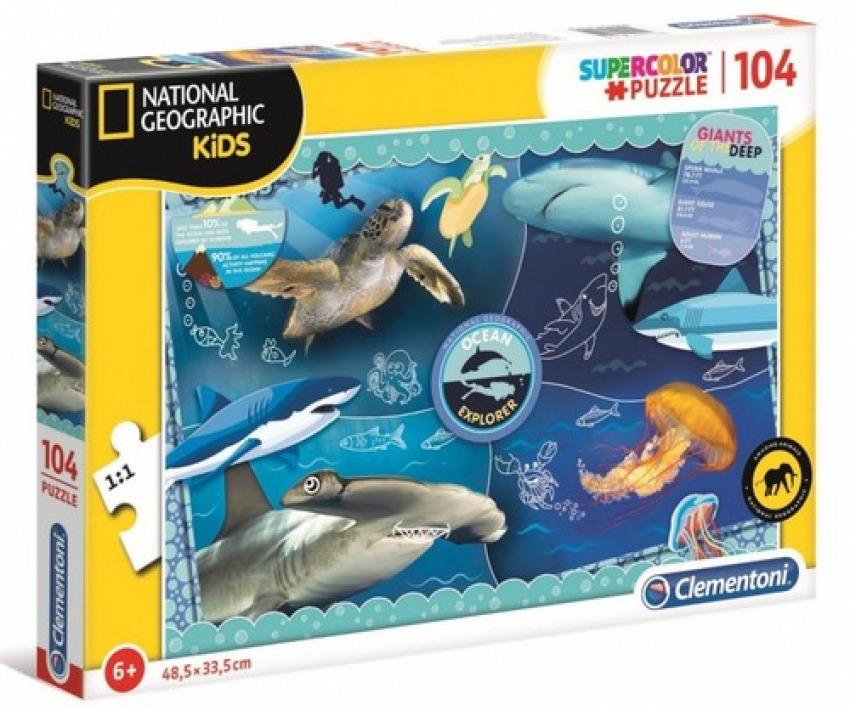 NATIONAL GEOGRAPHIC OCEAN EXPLORER PUZZLE 104 PIEZAS