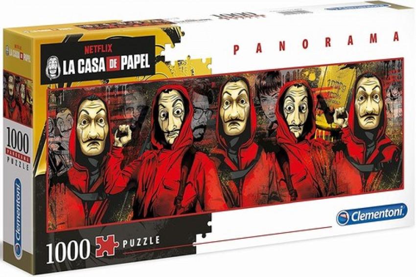 PANORAMA LA CASA DE PAPEL PUZZLE 1000 PIEZAS