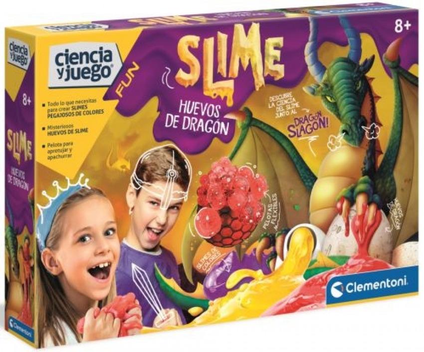 SLIME HUEVOS DE DRAGON