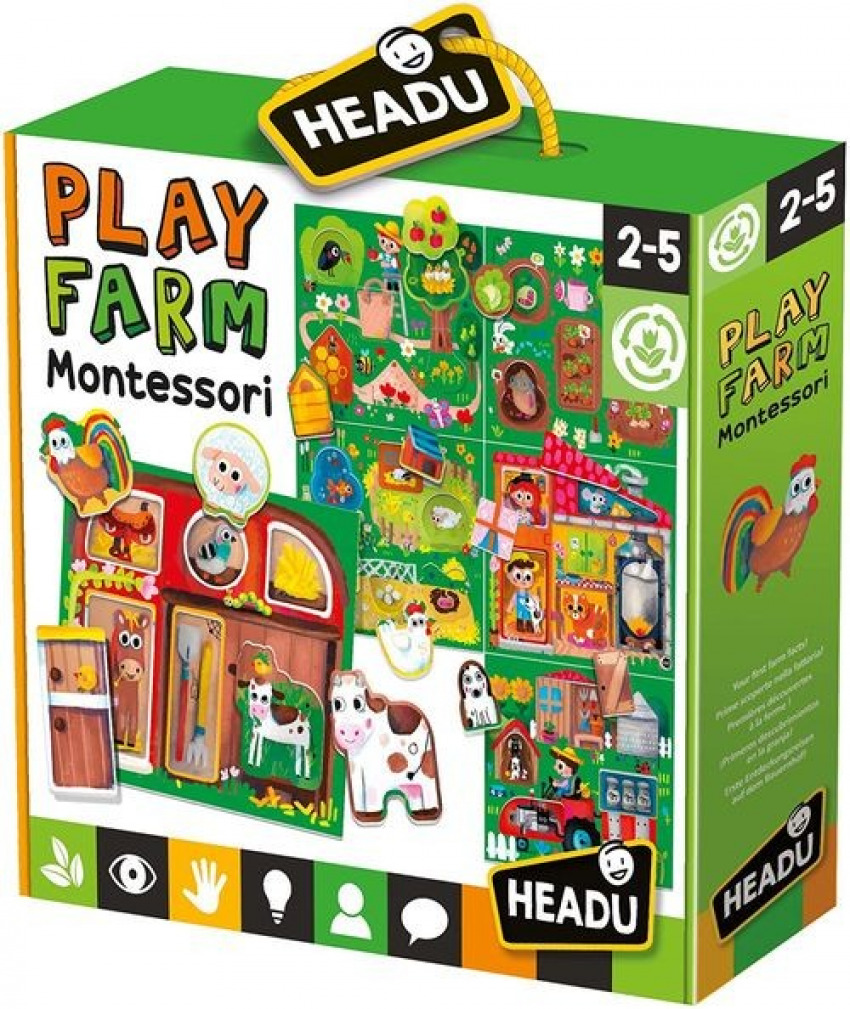 BABY PLAY FARMA MONTESSORI