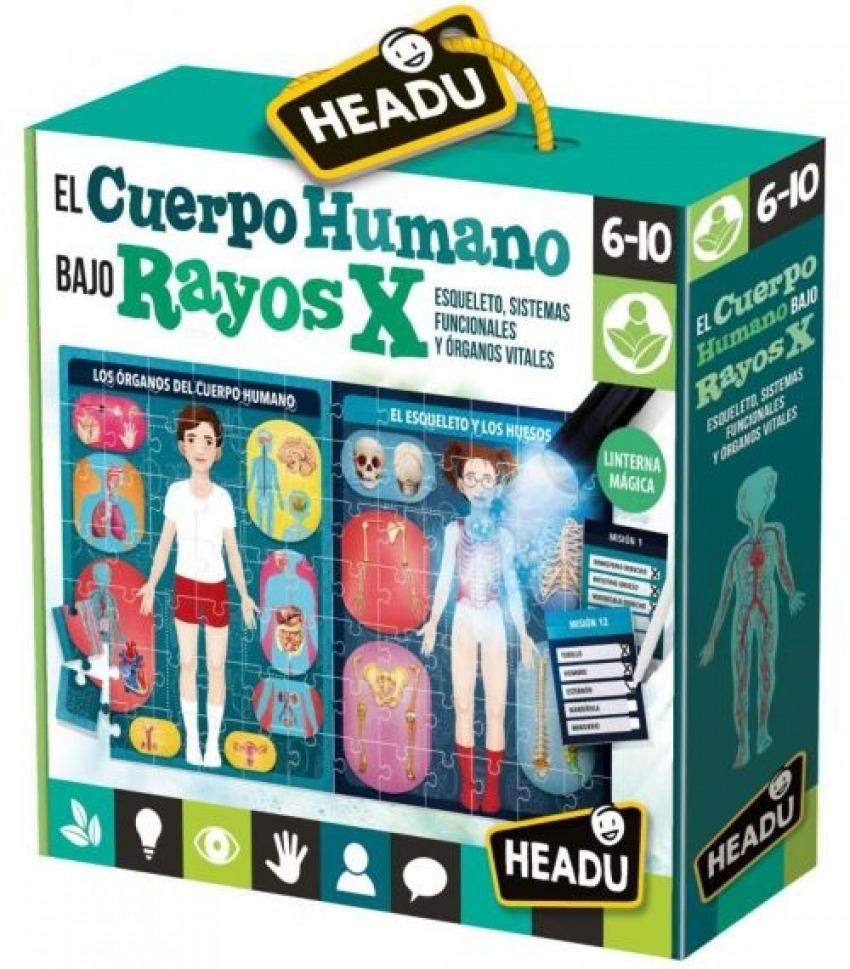 EL CUERPO HUMANO BAJO RAYOS X