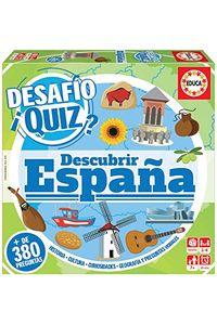 JUEGO DESAFIO QUIZ DESCUBRIR ESPAÑA