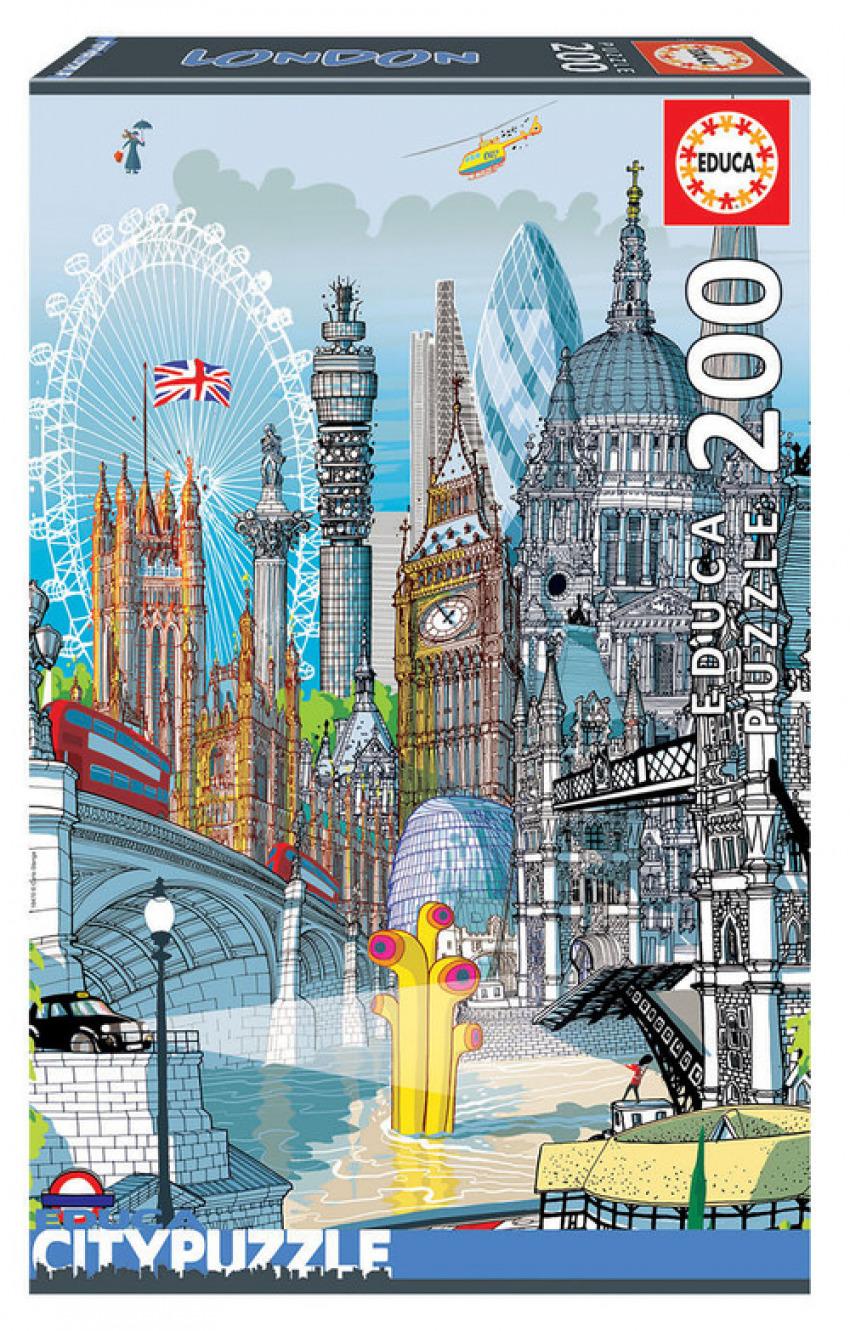 LONDRES EDUCA CITYPUZZLE 200 PIEZAS