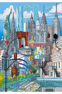 NUEVA YORK EDUCA CITYPUZZLE 200 PIEZAS