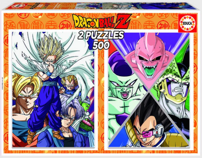 DRAGON BALL PUZZLE 2X500 PIEZAS