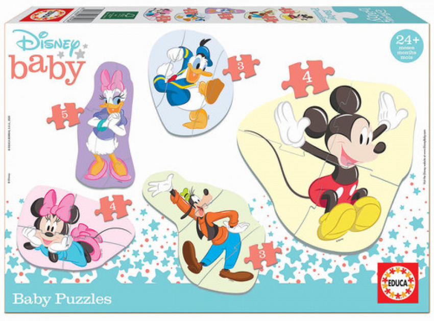 BABY MICKEY & FRIENDS PUZZLE