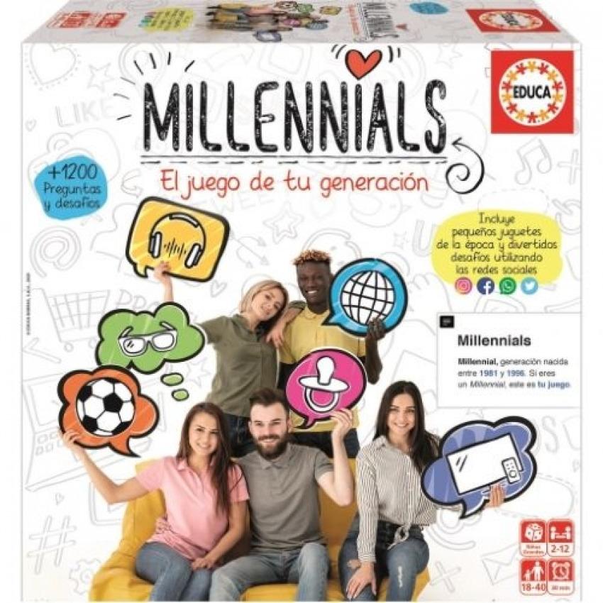 EL JUEGO DE TU GENERACION MILLENINIALS