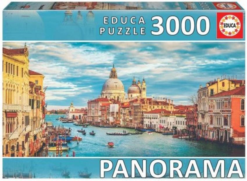 PUZZLE GRAN CANAL DE VENECIA PANORAMA 3000 PIEZAS