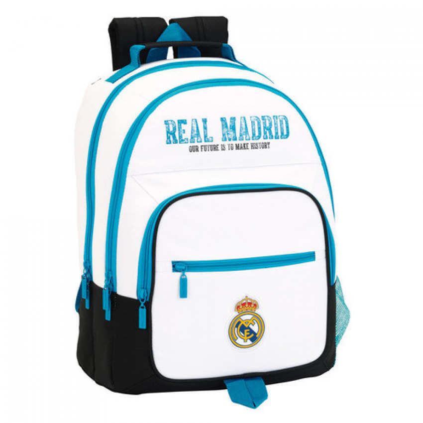 Day Pack doble adaptable carro Real Madrid 32x42x16cm