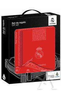 SET DE REGALO PEQUEÑO REAL MADRID RED 3ª EQUIPACION 28x35x6cm ... 662af87b44b