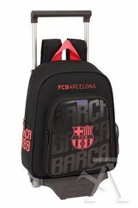 MOCHILA 524 + CARRO 705 F.C. BARCELONA BLACK 28x34x10cm - Librería Celia 65c62711eaa