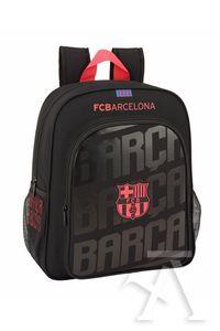 MOCHILA JUNIOR ADAPTABLE CARRO F.C. BARCELONA BLACK 32x38x12cm ... c09bc7eefd0