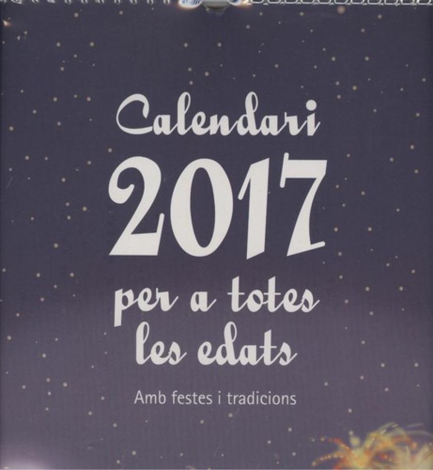 Calendari per a totes les edats 2017