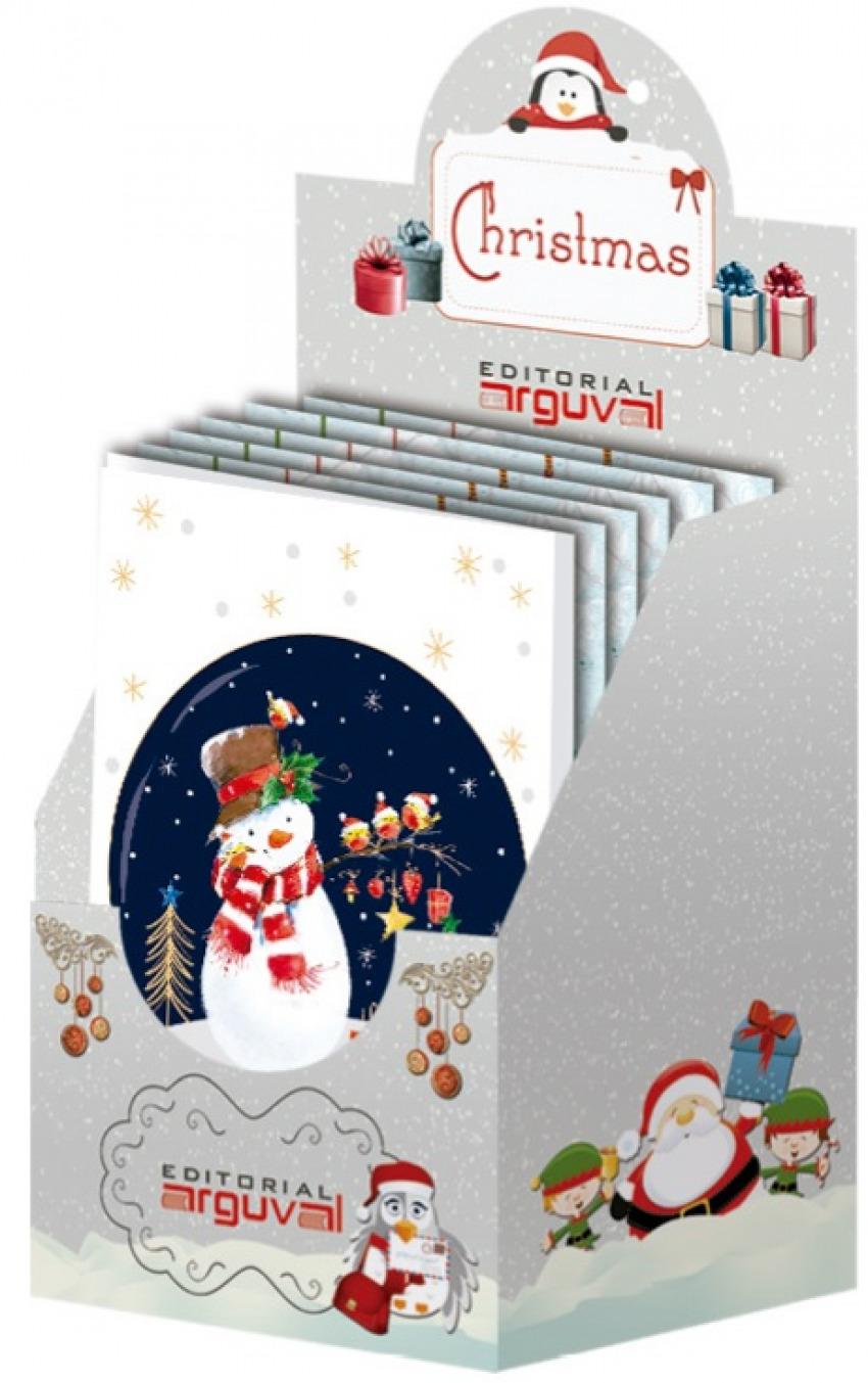 Felicitaciones De Navidad Modelos.Caja Expositora 48 Felicitaciones Navidad Modelos Surtidos Libreria Canseco