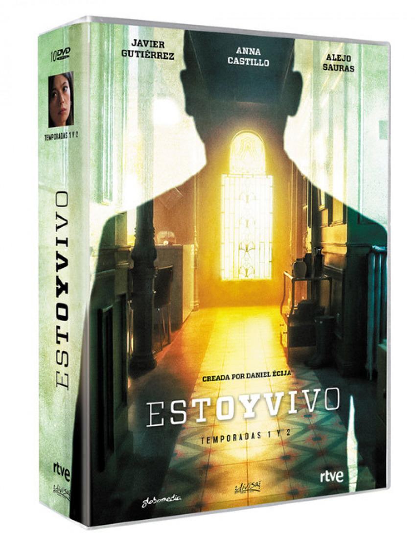 DVD ESTOY VIVO TEMPORADAS 1 + 2